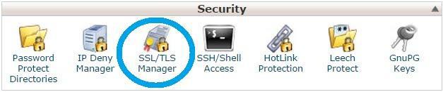 SSL & TLS Manager