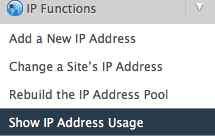 Dedicated IP Address Assigning