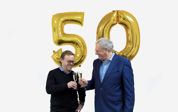 Happy 50th Birthday Precision Printing